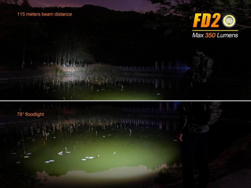 #1 Flashlight Manufacturer Has a Hit: Fenix FD20 Focused-Beam LED Flashlight