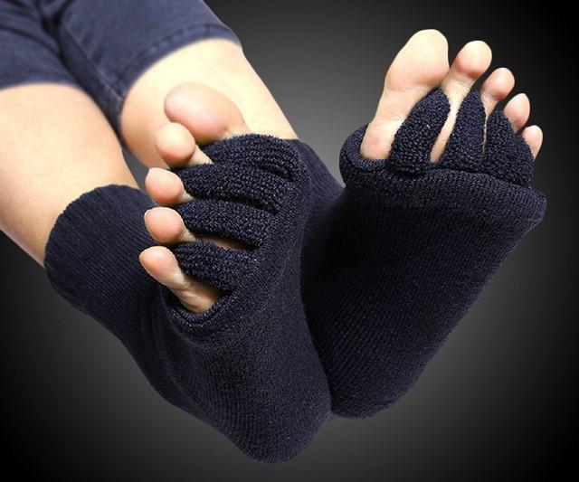 Five-Toe Separator Massage Socks