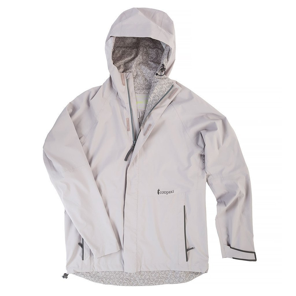 Cotopaxi Lightweight Rainshell: Extreme Attention to Detail