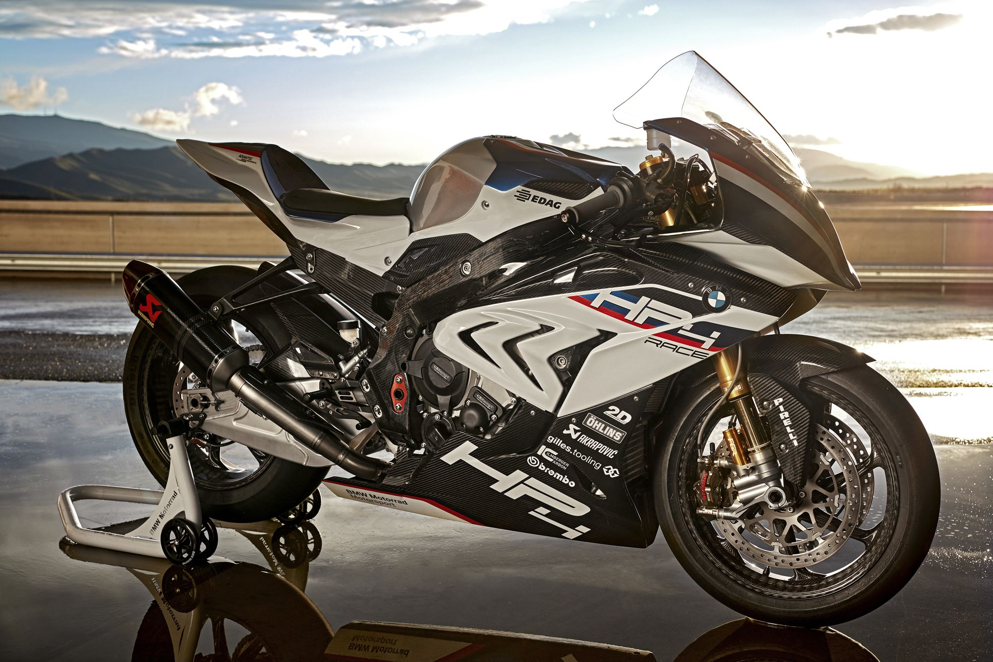 BMW HP4 Racer is the brand new carbon fiber motorcycle from BMW.