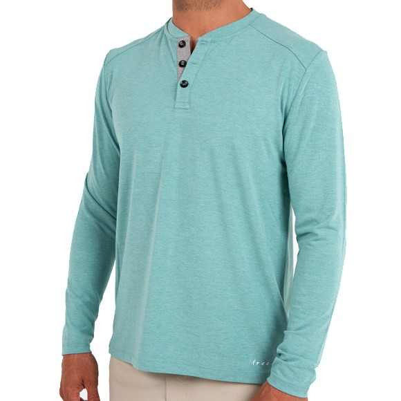 The Bamboo Henley from Free Fly: A Technical, Casual and Lightweight Henley