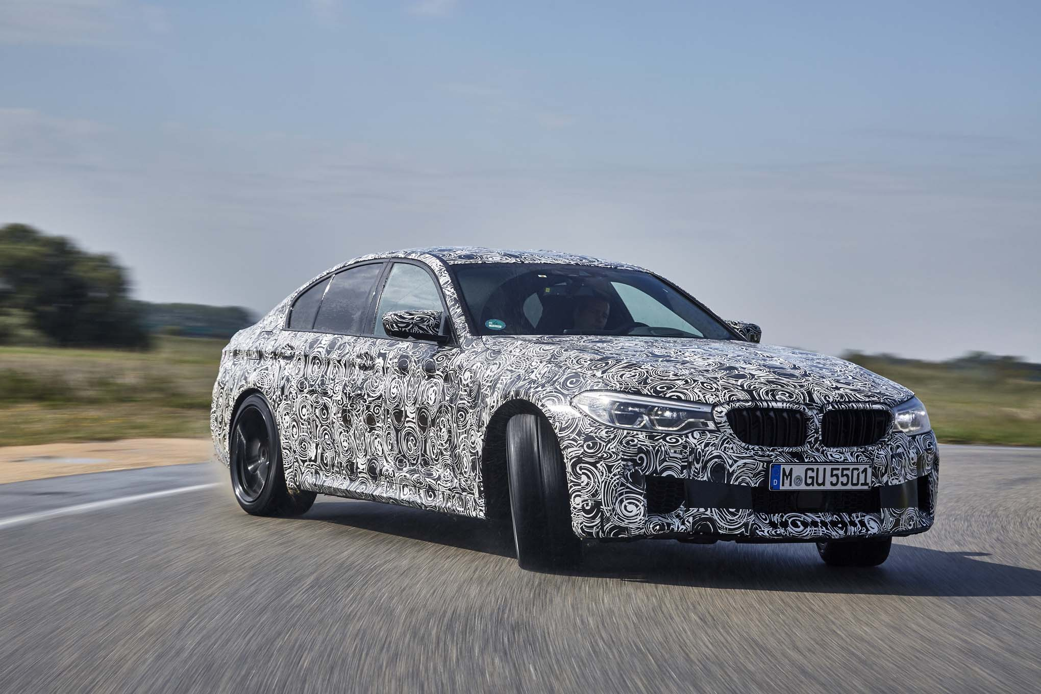 The 2018 BMW M5 Is 600HP Of Automatic Thrill