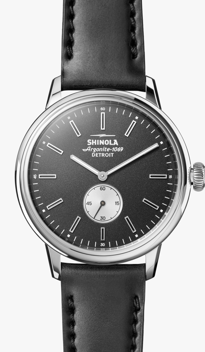 Shinola just released their First Dress Watch