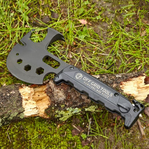 The Off Grid Survival Axe – Survival Axe Elite: Prepare for the Zombies