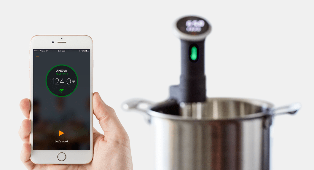 The Anova Sous Vide Precision Cooker Lets You Cook Remotely