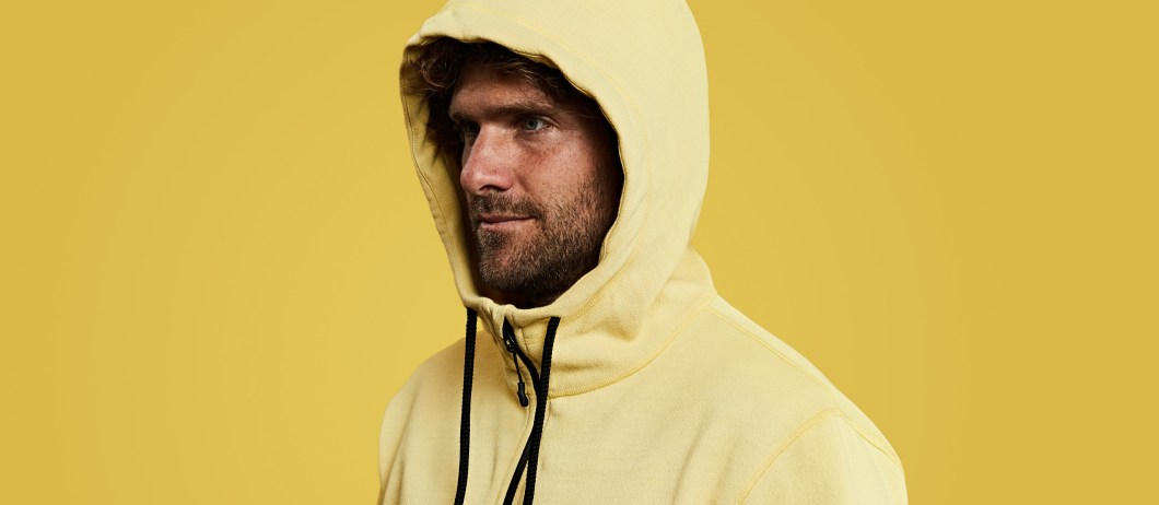 Vollebak's Raw 100 Year Hoodie Changes Color As It Ages