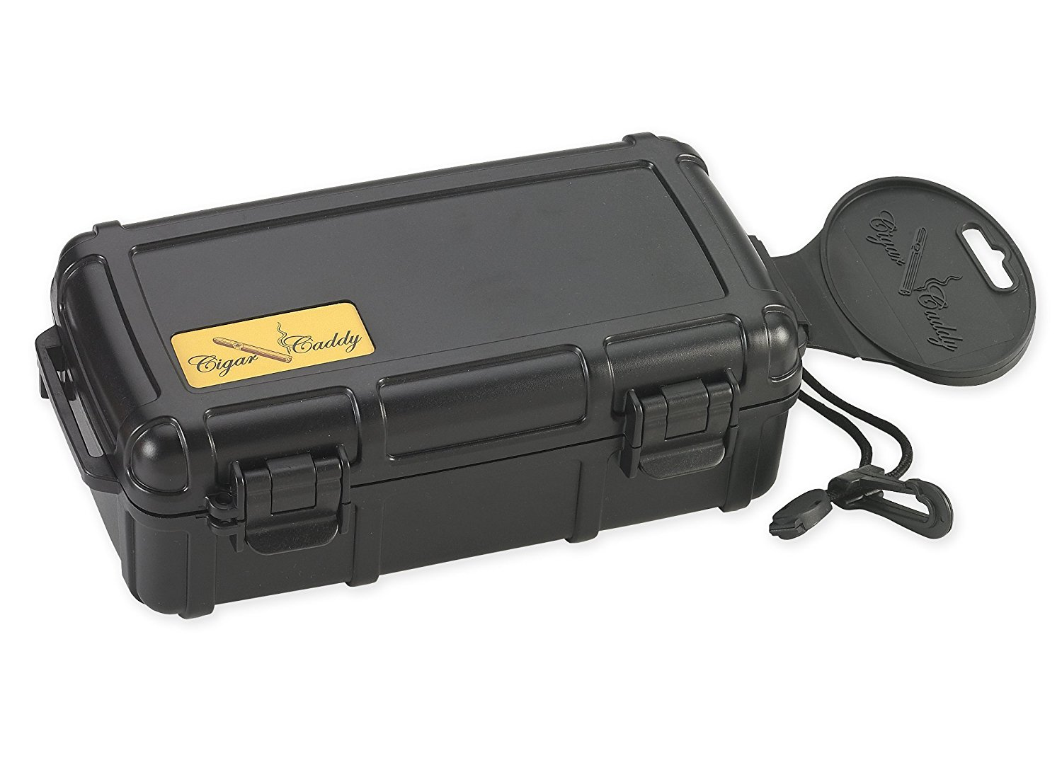 Cigar Caddy Waterproof Travel Humidor Front
