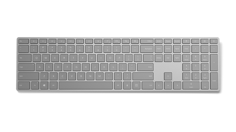 Microsoft's Modern Keyboard with Fingerprint ID: Never Forget A Password Again