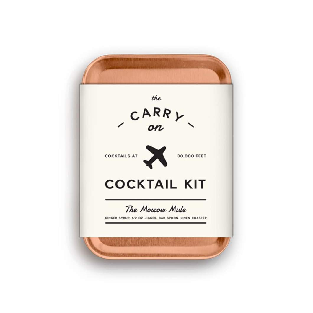 Carry-On Cocktail Kit:  When the Airplane Bar Doesn't Cut It