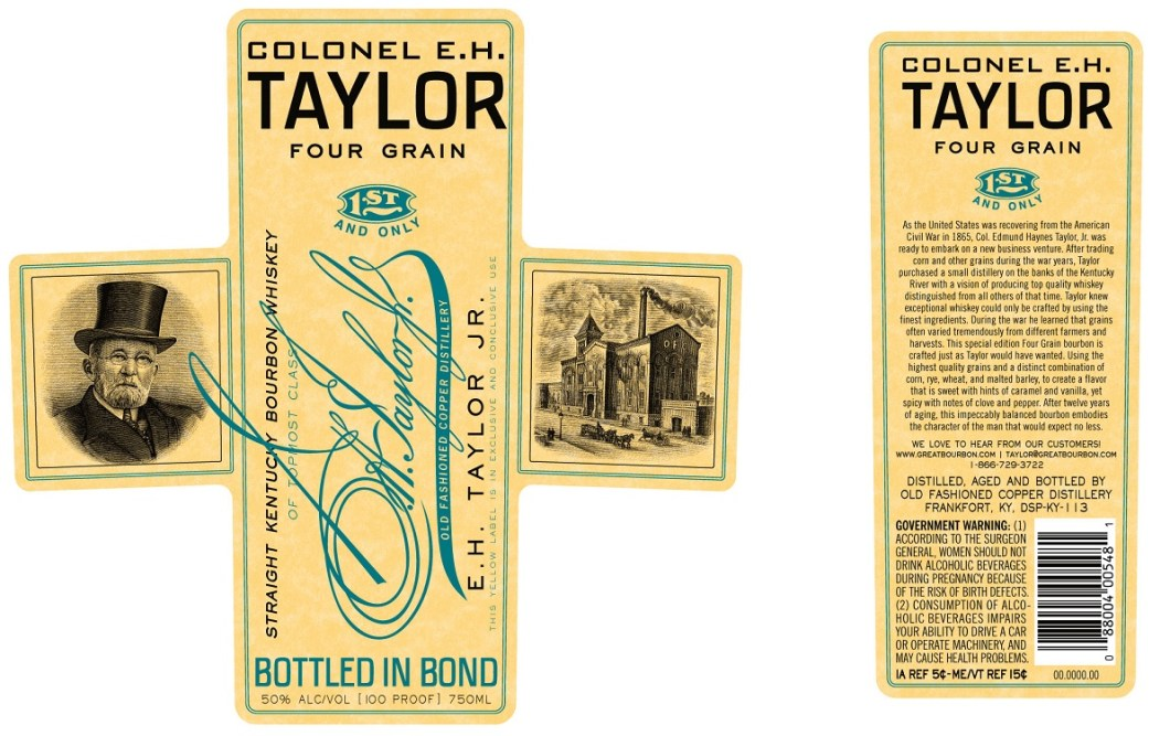 EH Taylor Four Grain: Perfect Limited Edition Bourbon For Father's Day