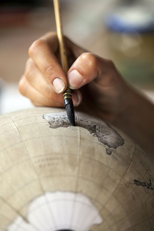 Bellerby and Company Globemakers: You Won't Find These in a Classroom