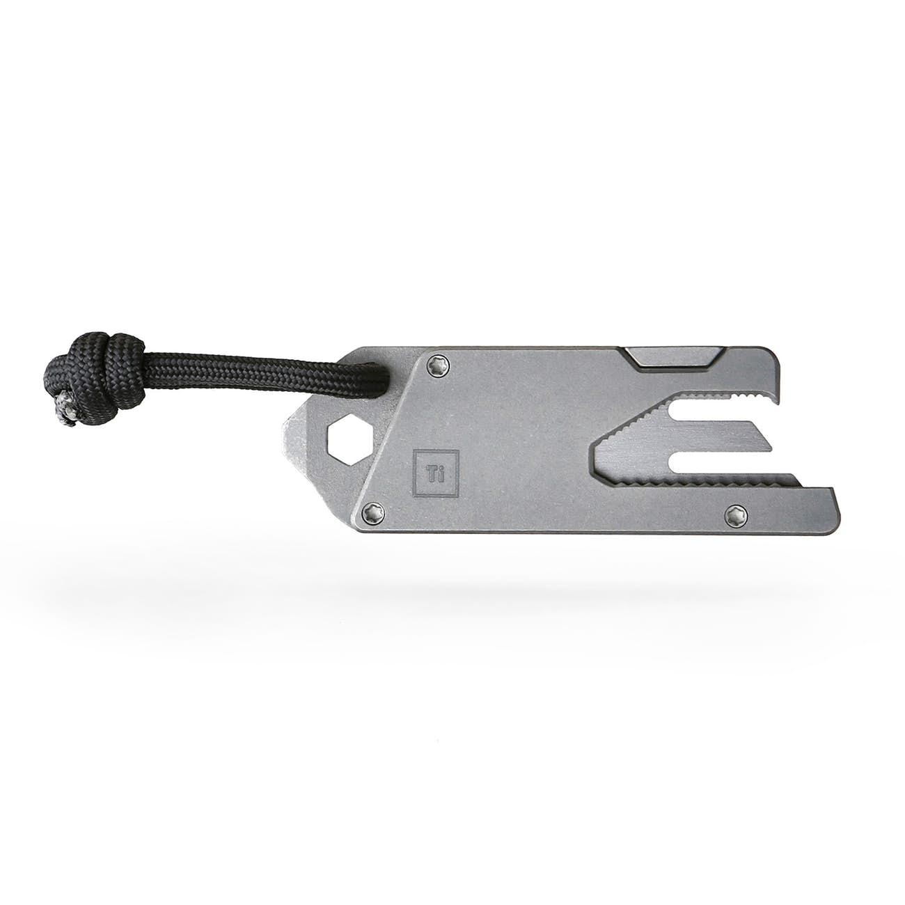 13-in-1 titanium tool front
