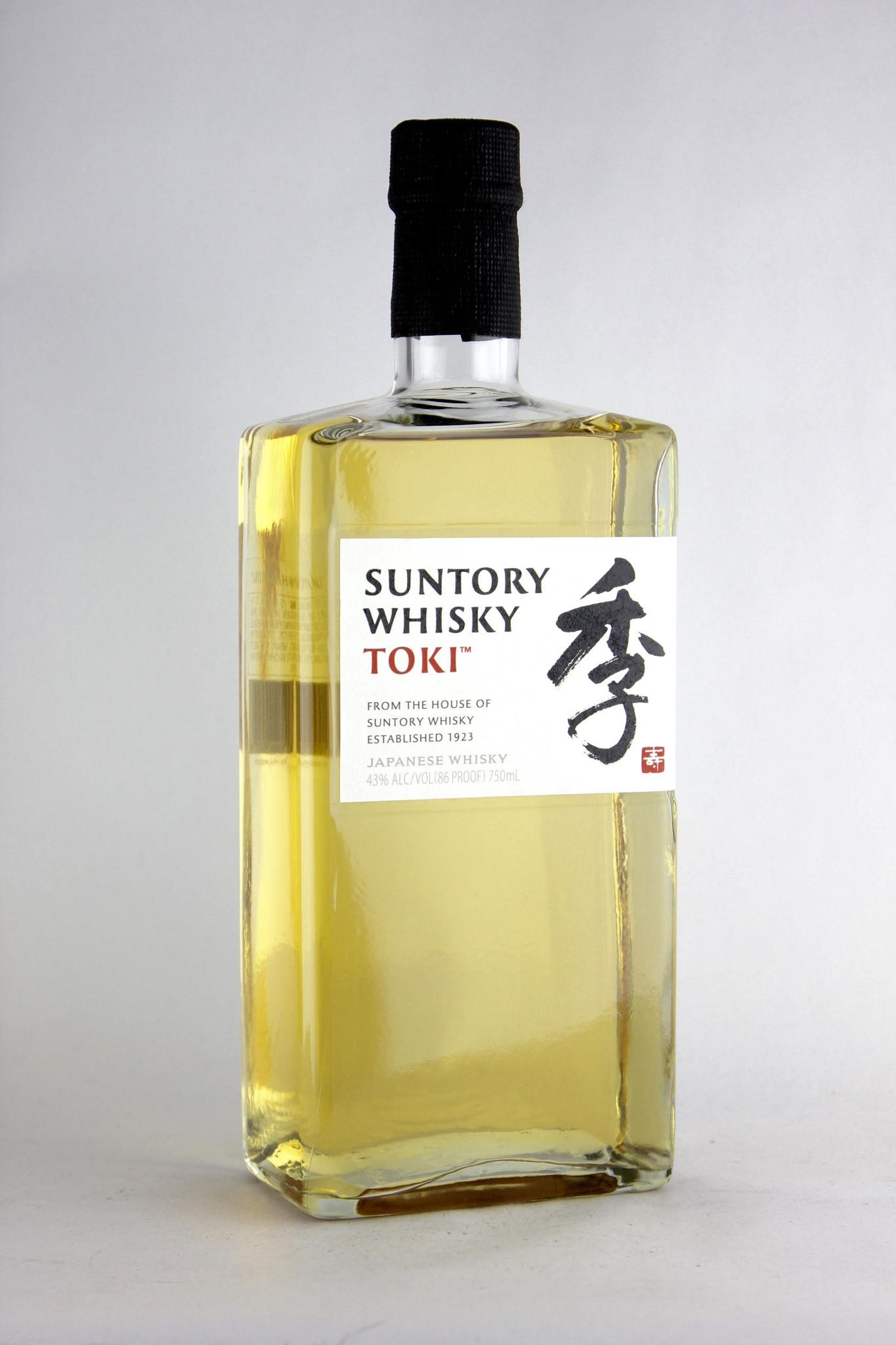 Suntory Whisky Toki Bottle