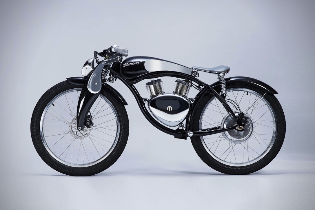 Munro 2.0 Electric Bike Profile