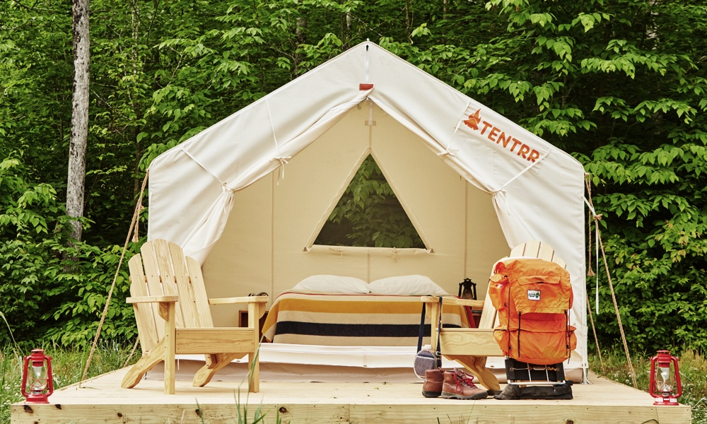 Tentrr Lets You Rent a Tent Next Time You Go Camping