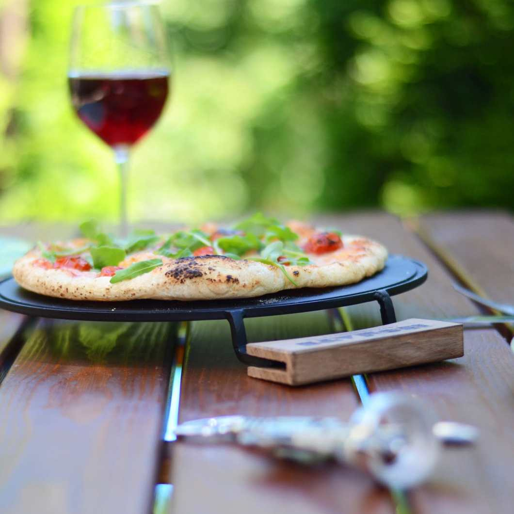 Ironate Stovetop Pizza Cooker Makes Delicious Crispy Crust in Minutes