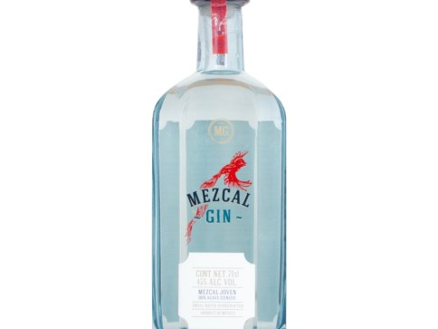 mezcal gin bottle front