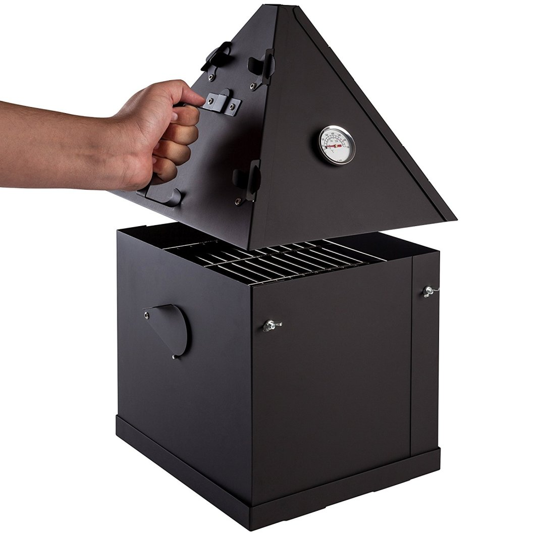 Ziv's Portable Smoker Lets You Smoke Meat On The Go