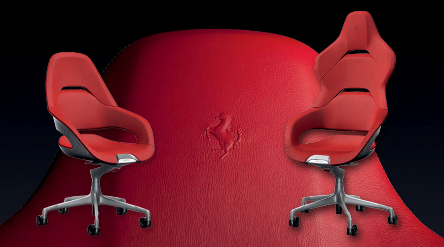 Poltrona Frau Cockpit Office Chair Logo