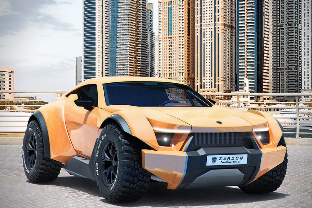 Zarooq Sandracer 500GT: A Supercar On and Off Road