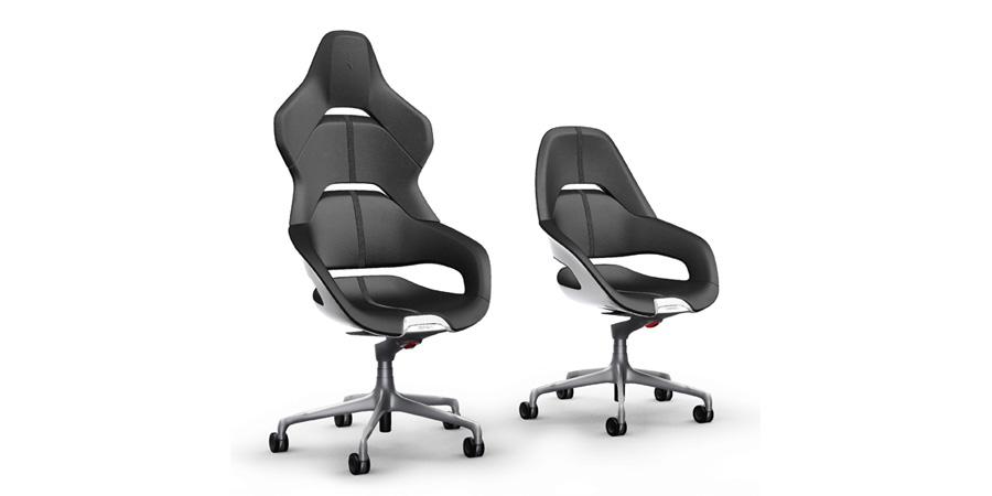 The Poltrona Frau Cockpit Office Chair Was Designed by Ferrari