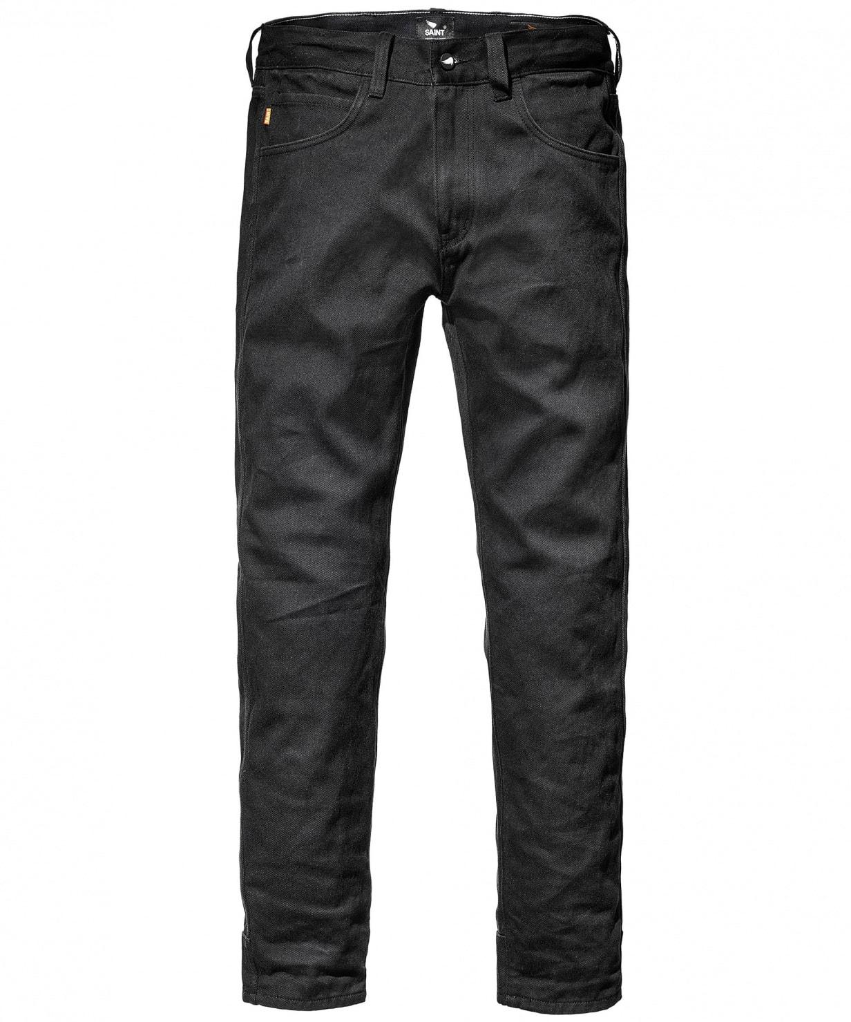 saint unbreakable jeans indigo front
