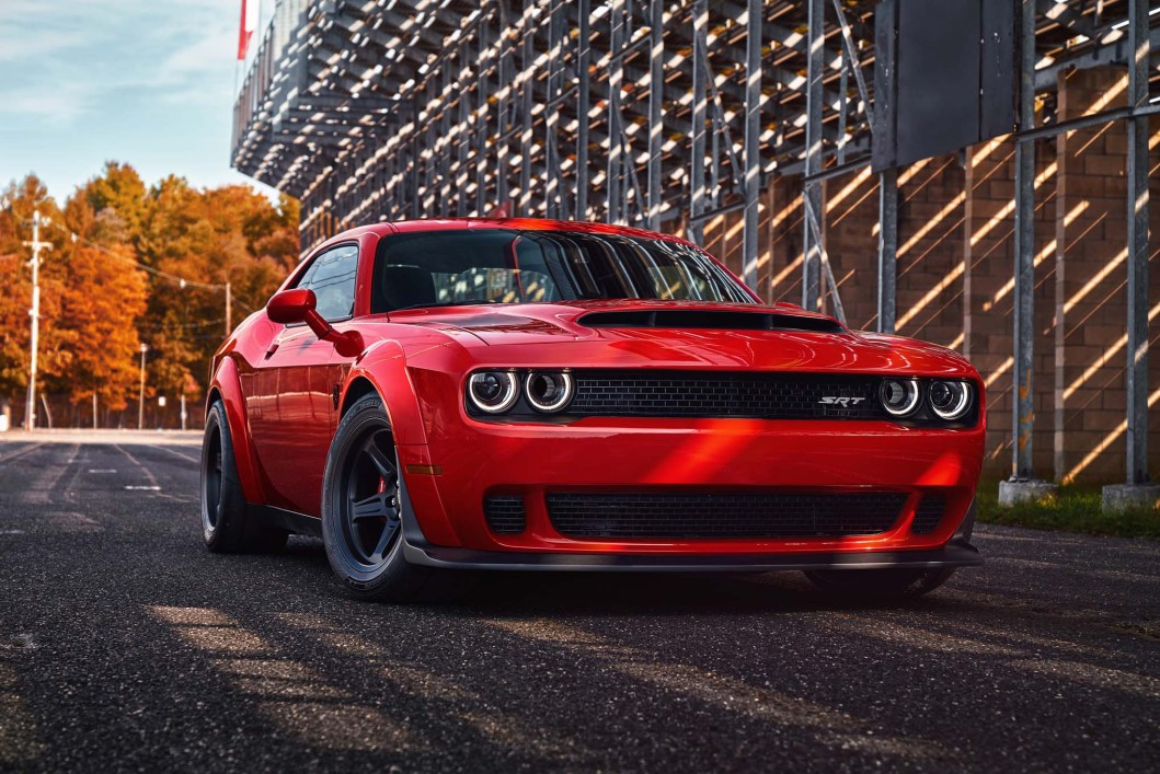 2018 Dodge Challenger SRT Demon: This Year's Biggest, Baddest Muscle Car