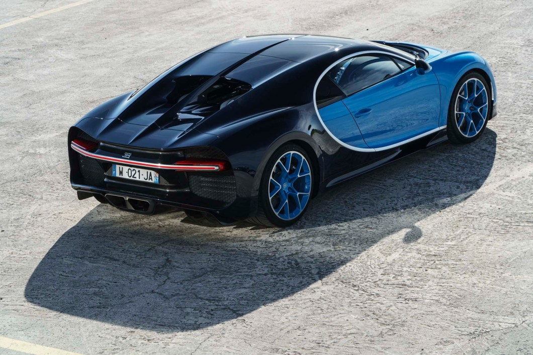 Bugatti Unveils Chiron, The Successor To The Bugatti Veyron
