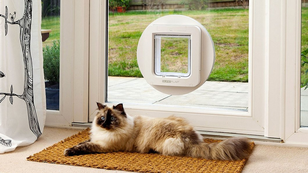 SureFlap Microchip Pet Door: Keep Unwanted Varmints Out