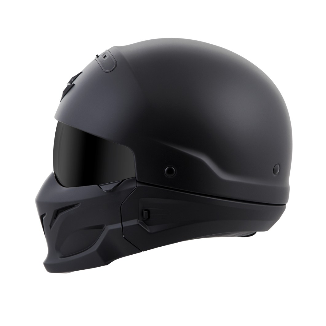 Scorpion Exo Covert Motorcycle Helmet: 3 Helmets in One