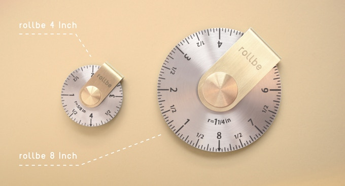 Rollbe Compact Measuring Tool: New Way to Measure AND No Battery
