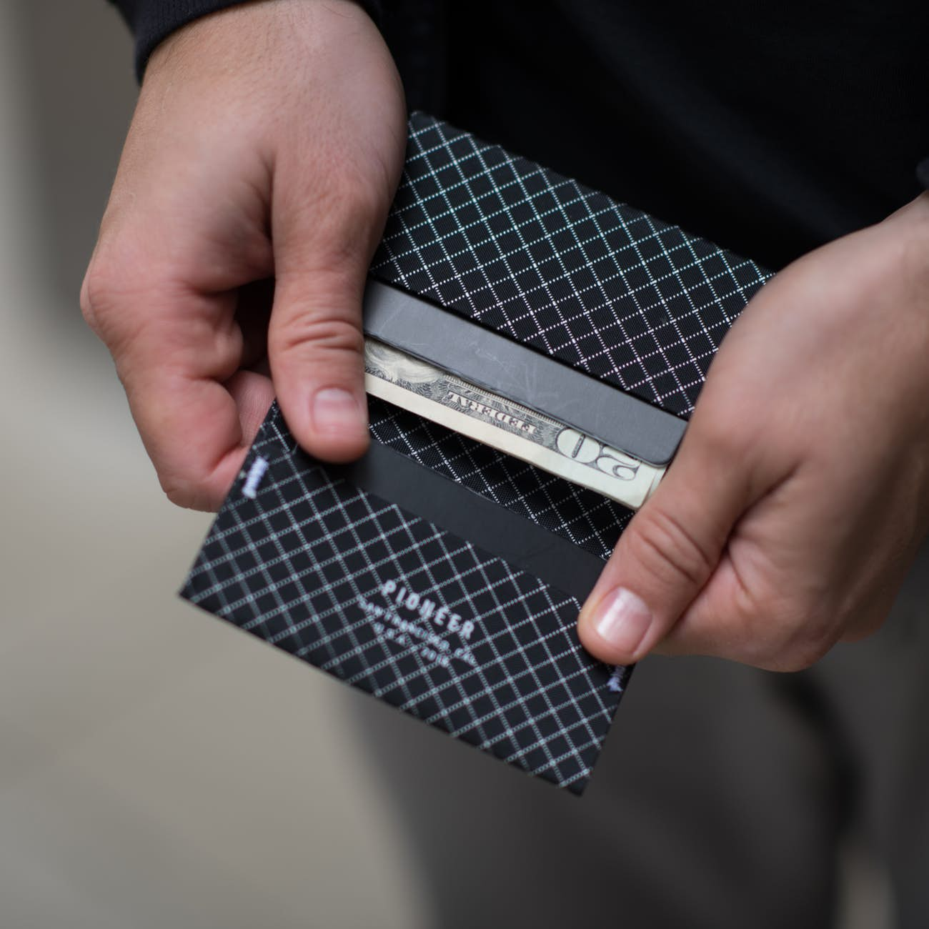 Pioneer Wallets Ion Black