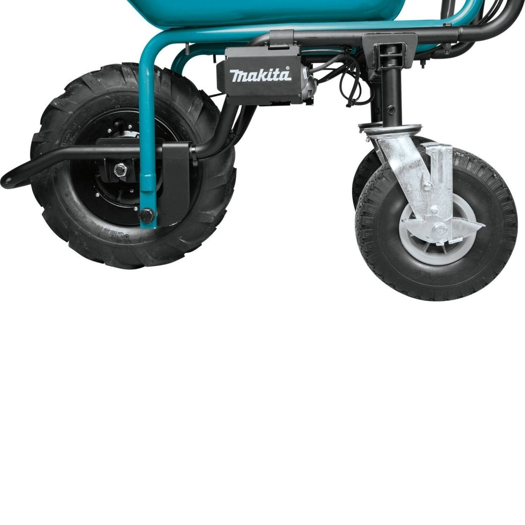 Makita Power-Assisted Dolly: For All Those Who Hate Push Dollies