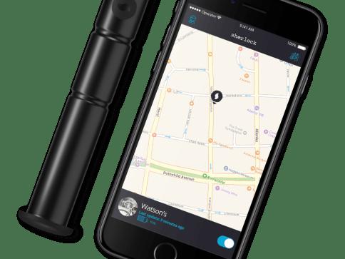 Sherlock Anti-Theft Bike Tracker