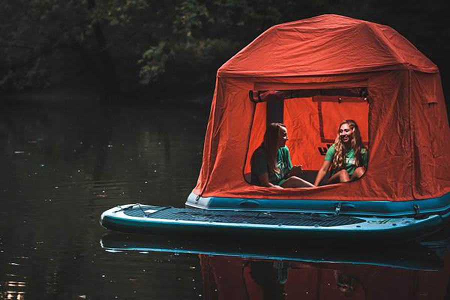 Camp on the Water with the Shoal Tent from SmithFly