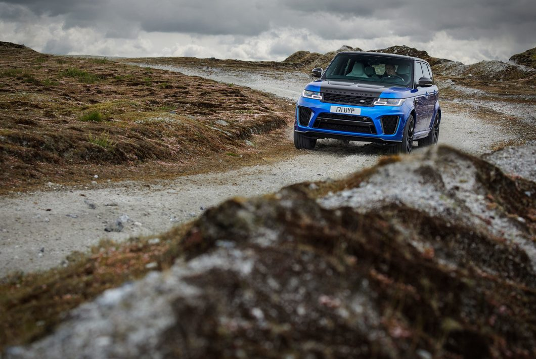 Meet the 2018 Range Rover SVR, Land Rover's Performance SUV