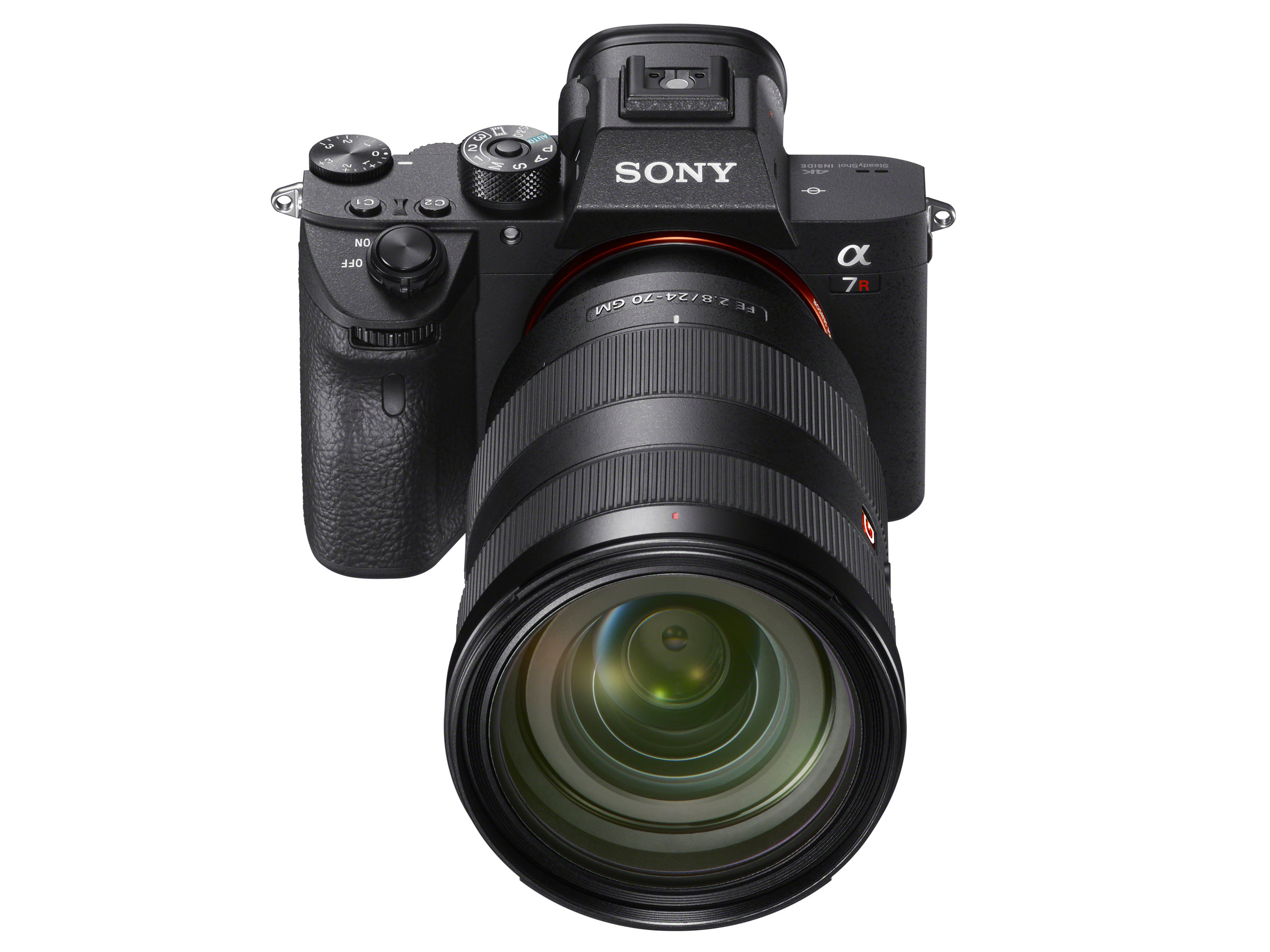 sony alpha a7r iii front