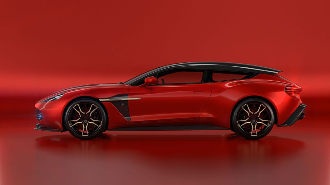 The 2018 Aston Martin Vanquish Zagato Shooting Brake Unveiled