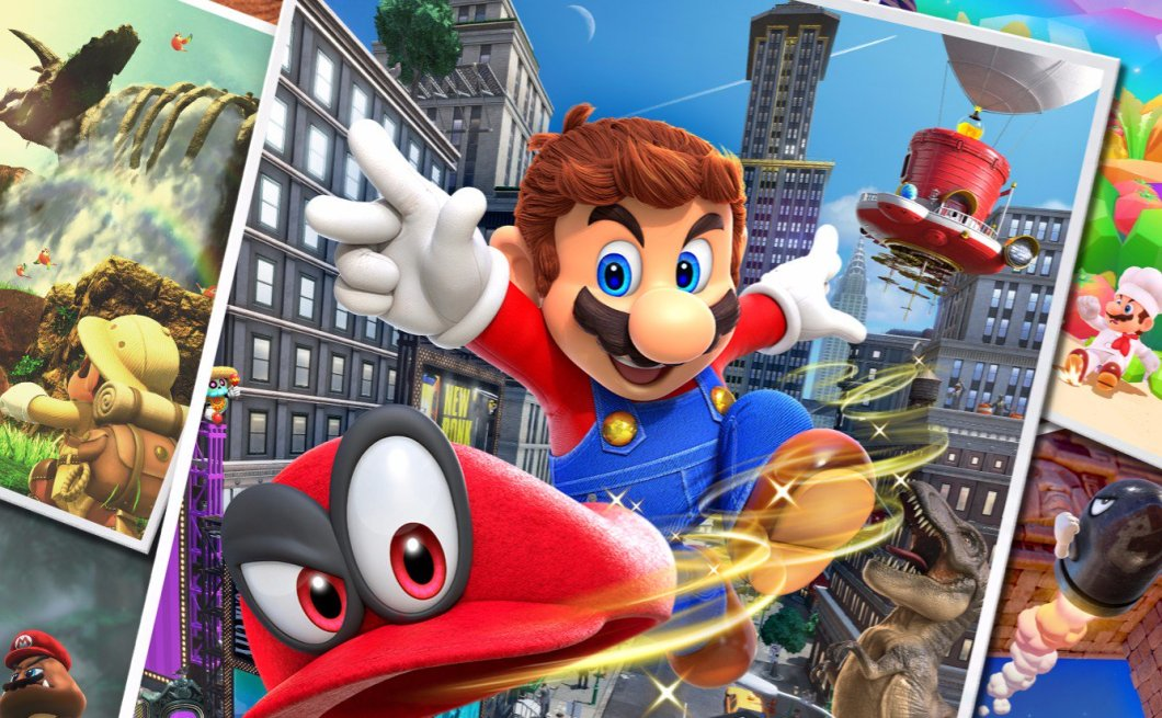 Super Mario Odyssey: Best Reviewed Video Game of 2017