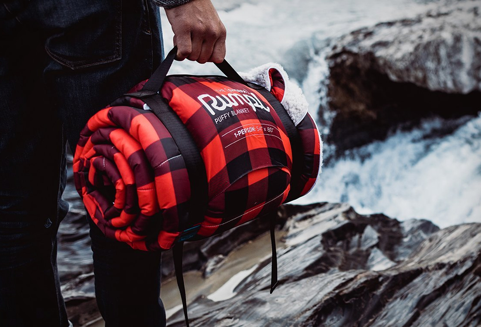Rumpl Sherpa Fleece Blanket: Featuring the Warmth of a Hugging Lumberjack