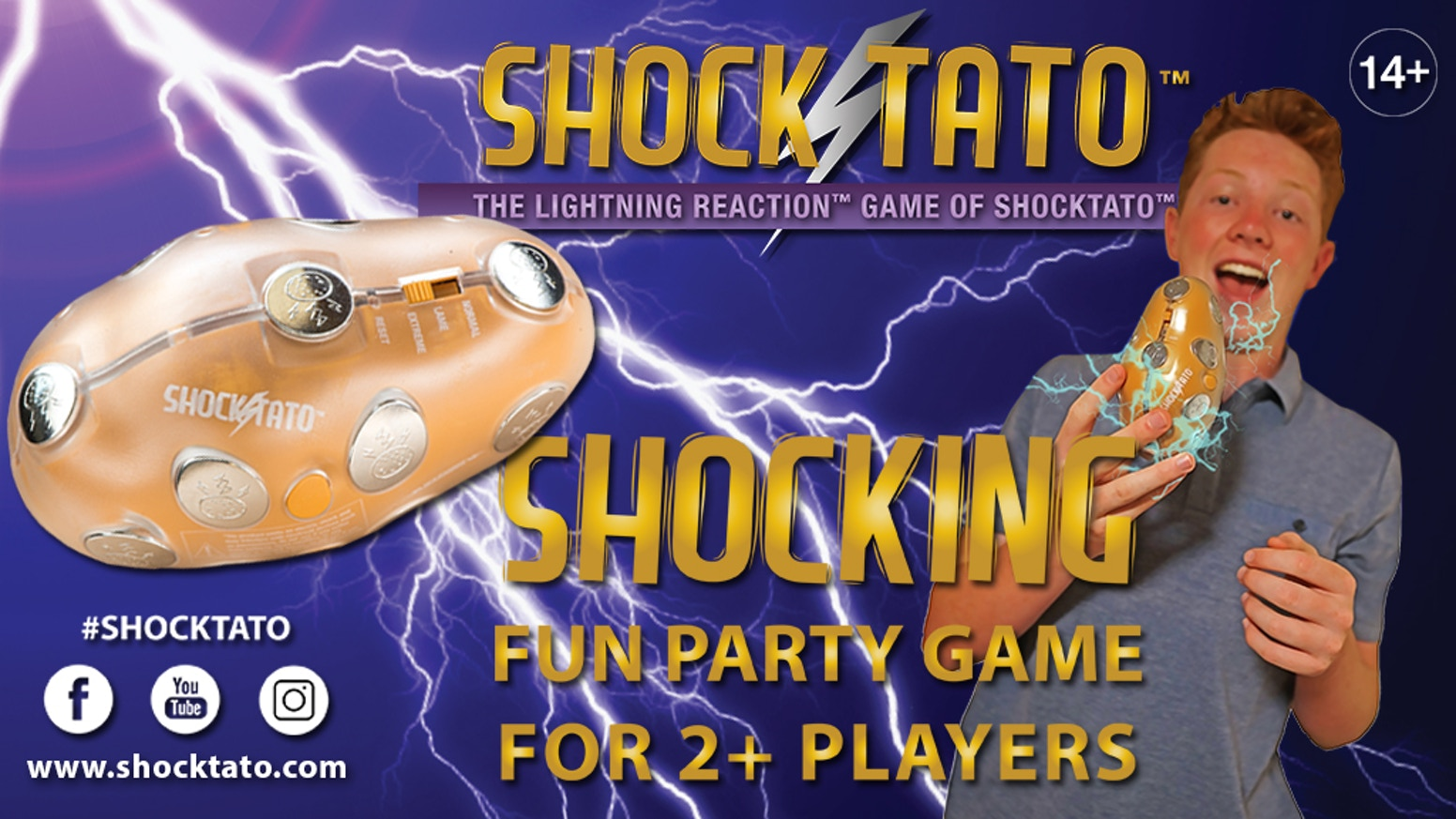 Shocktato Party Game