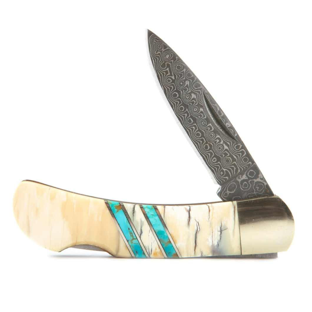 Santa Fe Stoneworks: Heirloom Quality Knives With Marbled Damascus Blades