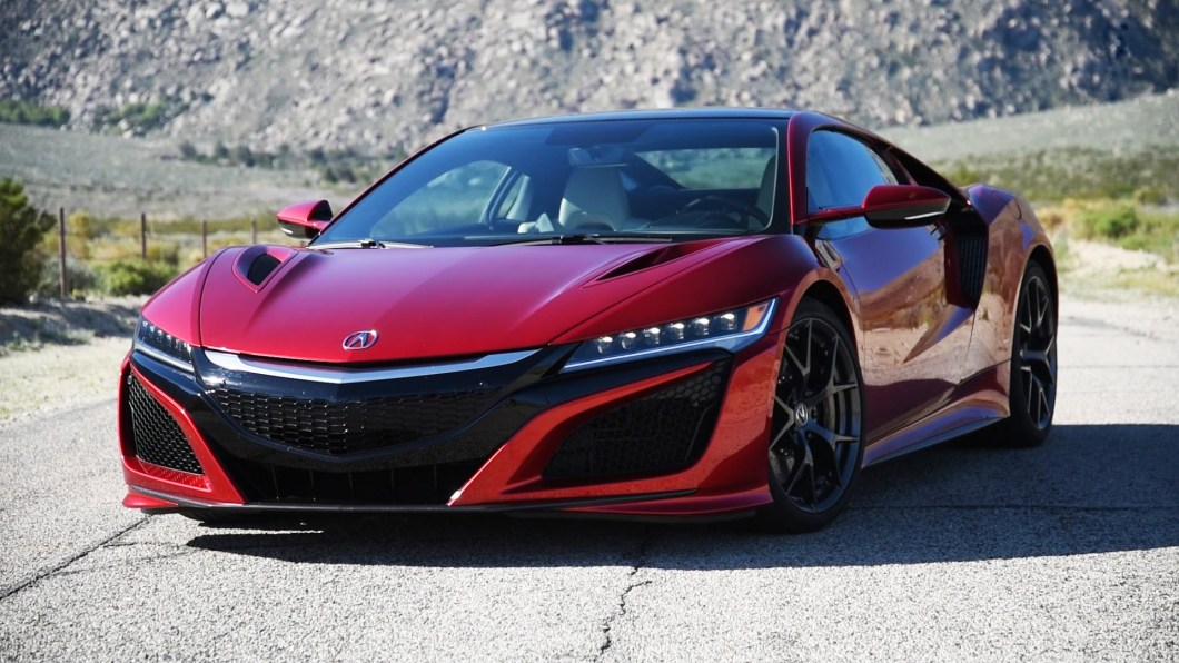 The 2017 Acura NSX Isn't Your Typical Hybrid