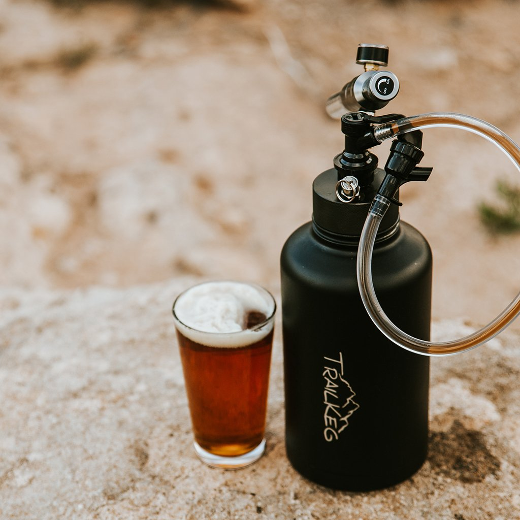 Pour Yourself Fresh Beer On The Trail with TrailKeg