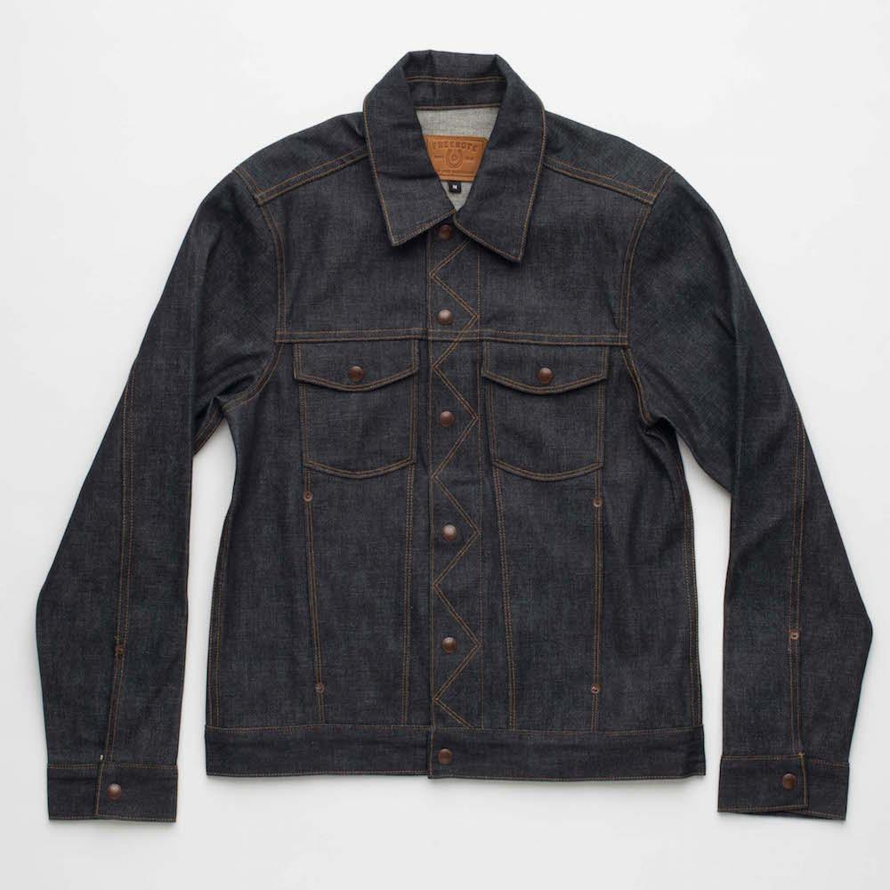 freenote cloth cd2 denim jacket