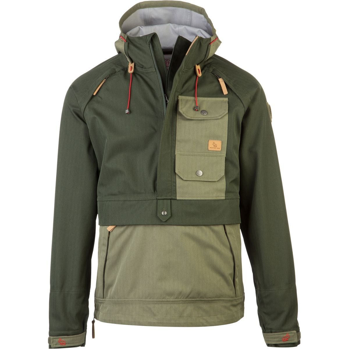 Western Rise Bitter Creek Anorak Jacket Front