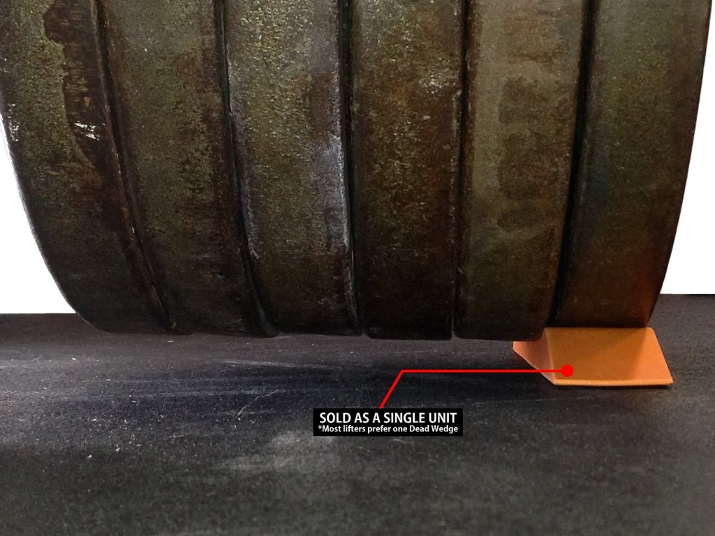 The Dead Wedge Makes Loading Up A Barbell Dead Simple