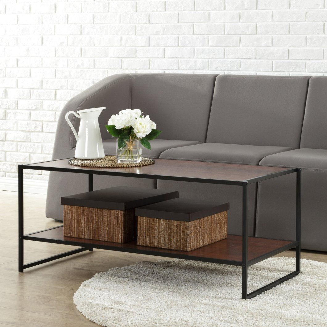 This Zinus Coffee Table On Amazon Looks Great In Your Living Room – For Cheap