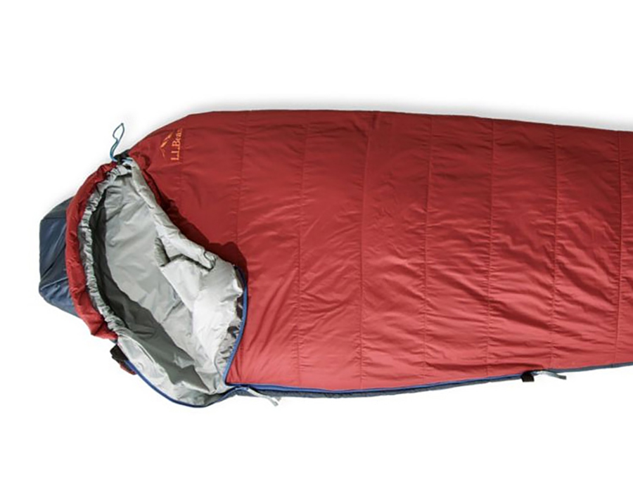 This LL Bean Ultralight Sleeping Bag Is Made with AeroGel Insulation