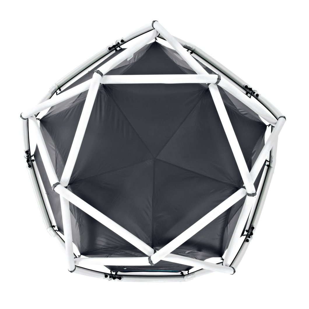 Best Inflatable Tent – the HeimPlanet Cave Geodesic Shaped Tent